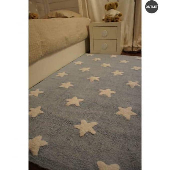 Stars navy-blue 120x160
