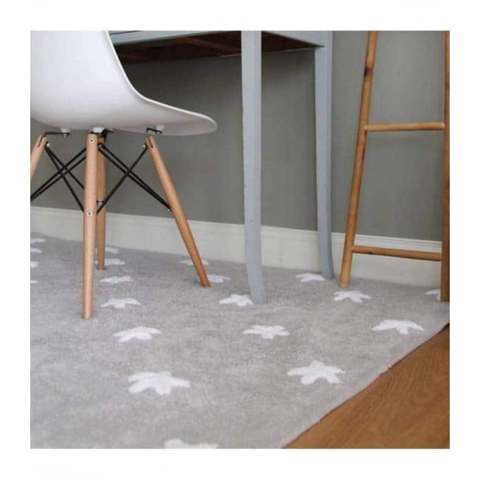 Stars grey-white 120x160