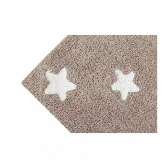 Stars linen-white 120x160