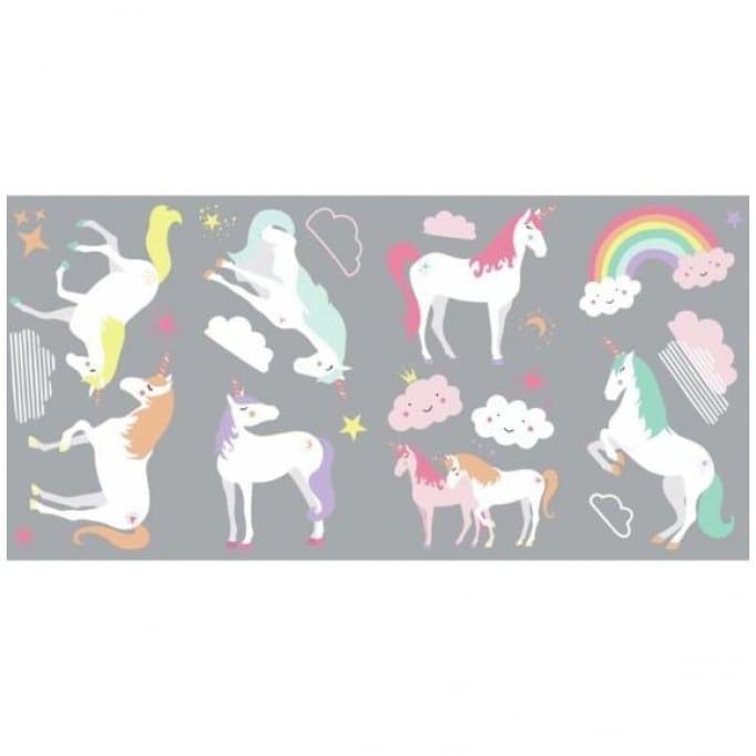 Αυτοκόλλητα τοίχου Unicorn magic