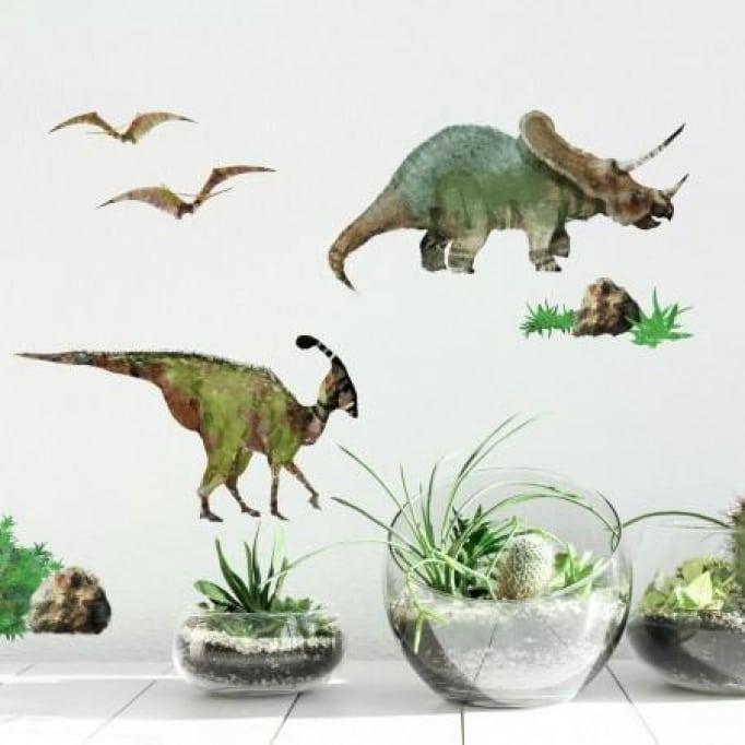 Αυτοκόλλητα τοίχου Δεινόσαυροι