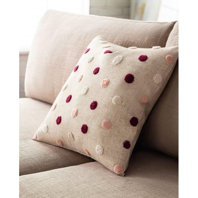 Διακοσμητικό μαξιλάρι Felicia cherry-pink