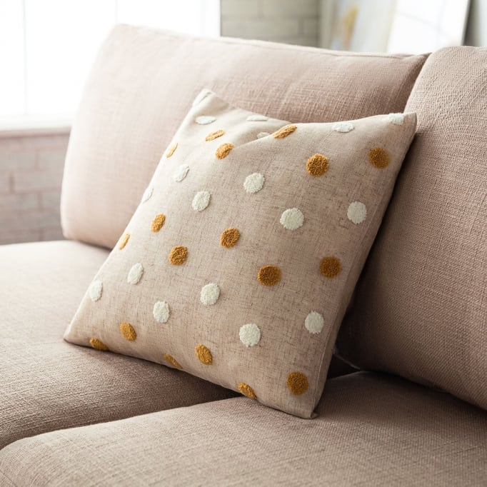 Διακοσμητικό μαξιλάρι Felicia ώχρα