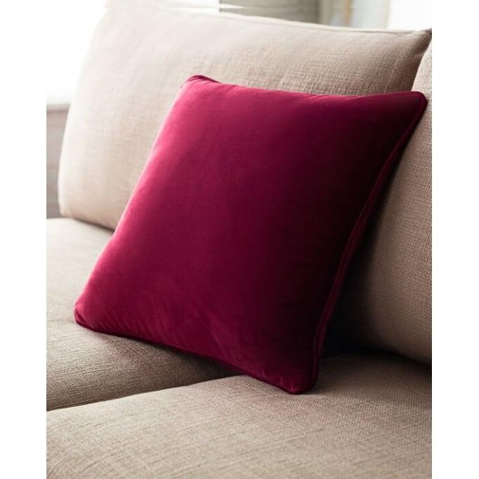 Διακοσμητικό μαξιλάρι Gofis Home Μπορντώ