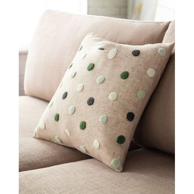 Διακοσμητικό μαξιλάρι Felicia pine-green
