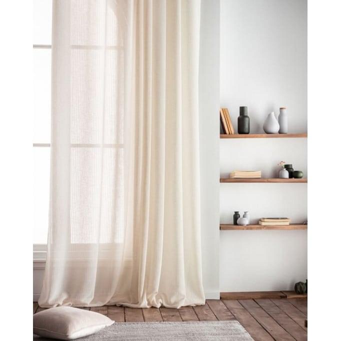 Κουρτίνα με σιρίτι λινό Irene Gofis Home