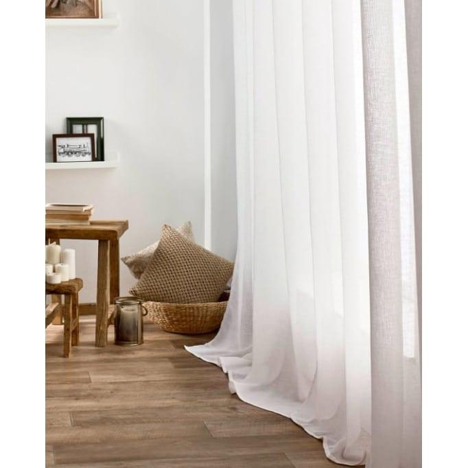 Κουρτίνα Με τρουκς Combe Off white GOFIS