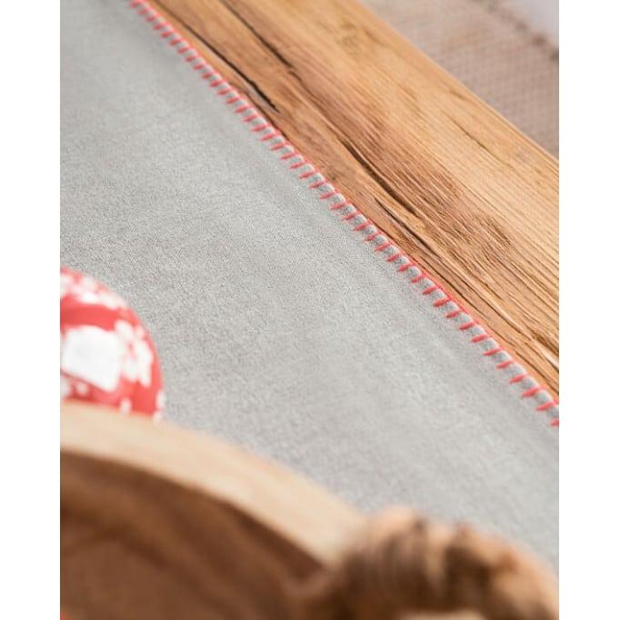Runner-Τραβέρσα Gofis Home Edelweiss 35x150 Γκρι-Πορτοκαλί