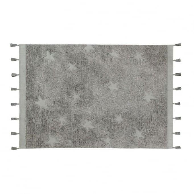 Χαλί δωματίου Lorena Hippy stars grey 120Χ175εκ