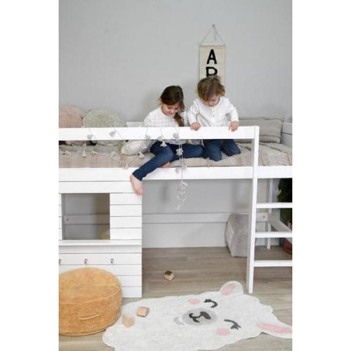 Lorena canals χαλί παιδικού δωματίου Llama