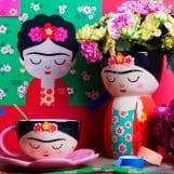 Βάζο Frida multicolor 12X19εκ