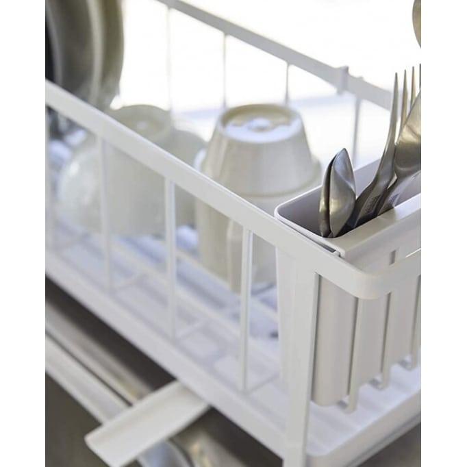 Πιατοθήκη-Στεγνωτήριο Πιάτων Slim Yamazaki Λευκό