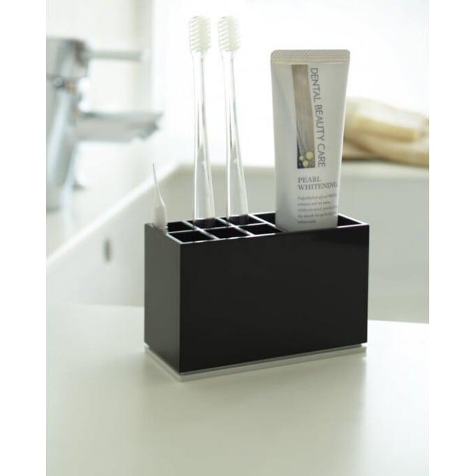 Θήκη για οδοντόβουρτσες Yamazaki black