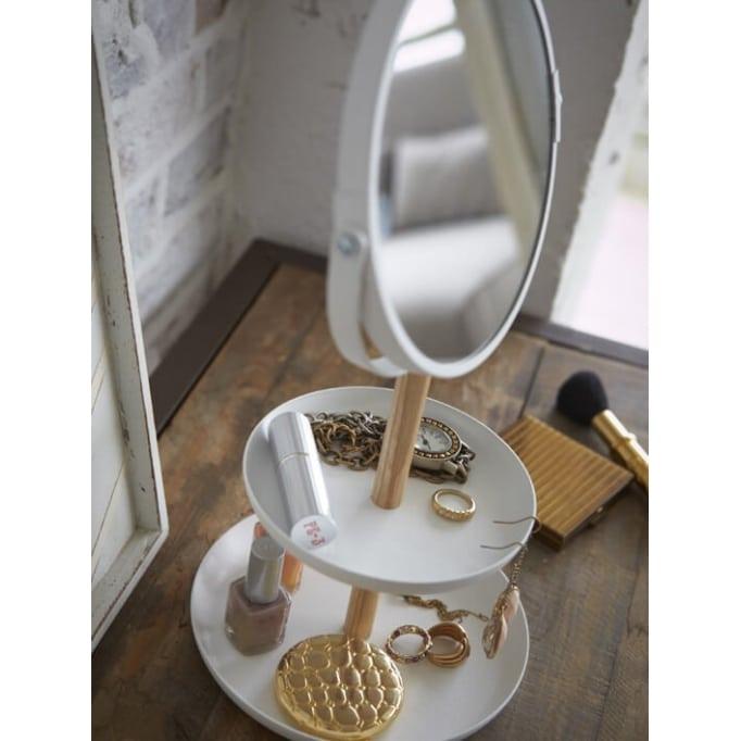 Βάση κοσμημάτων με καθρέφτη