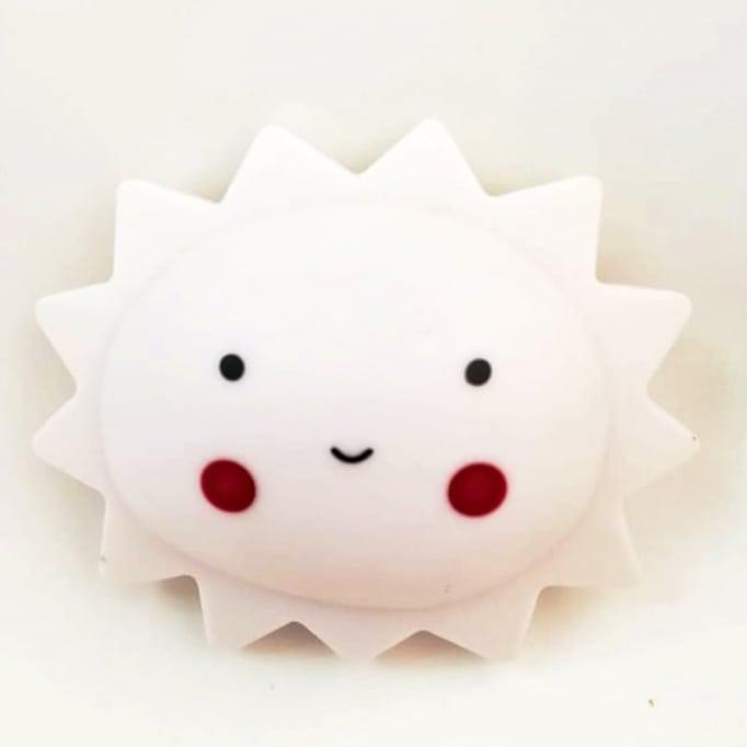 Φωτάκι Νυκτός Παιδικό Sun Με Led Λευκό
