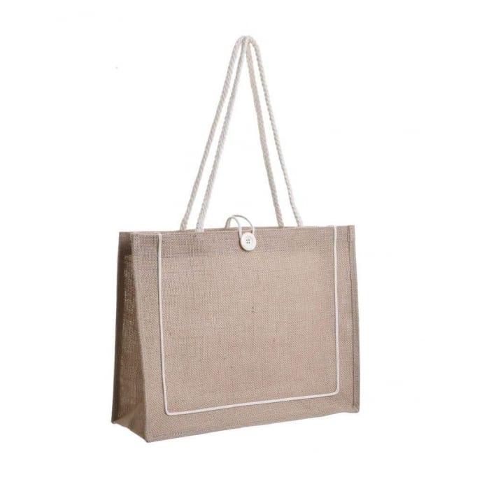 Τσάντα ψάθινη 41Χ34εκ