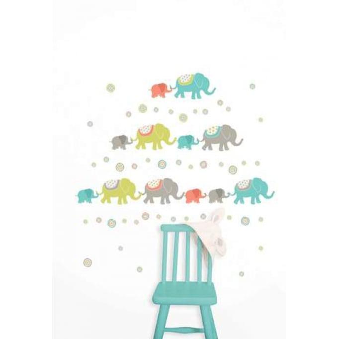 Αυτοκόλλητα τοίχου ελέφαντες