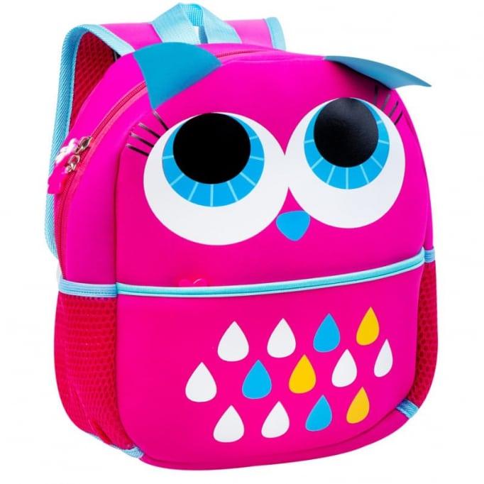 Σχολική τσάντα dog owl φούξια