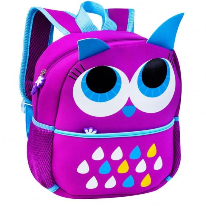 Σχολική τσάντα dog Easy flow owl purple