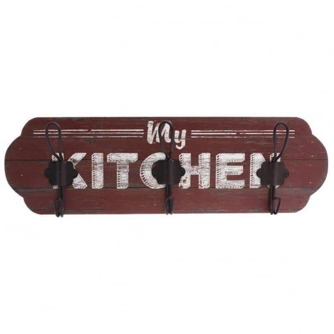 """Κρεμάστρα τοίχου """"kitchen"""""""