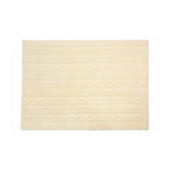 Πλεκτό κρεμ βανίλια - Trenzas vanilla 80x120 & 120x160