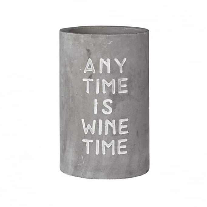 """Wine cooler """"any time is wine time"""""""