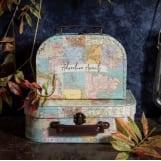 Σετ 2τμχ βαλίτσες collage