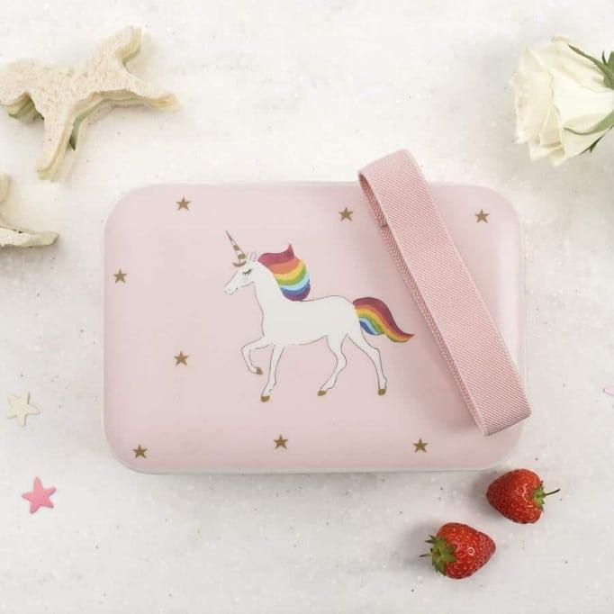Δοχείο φαγητού από μπαμπού unicorn