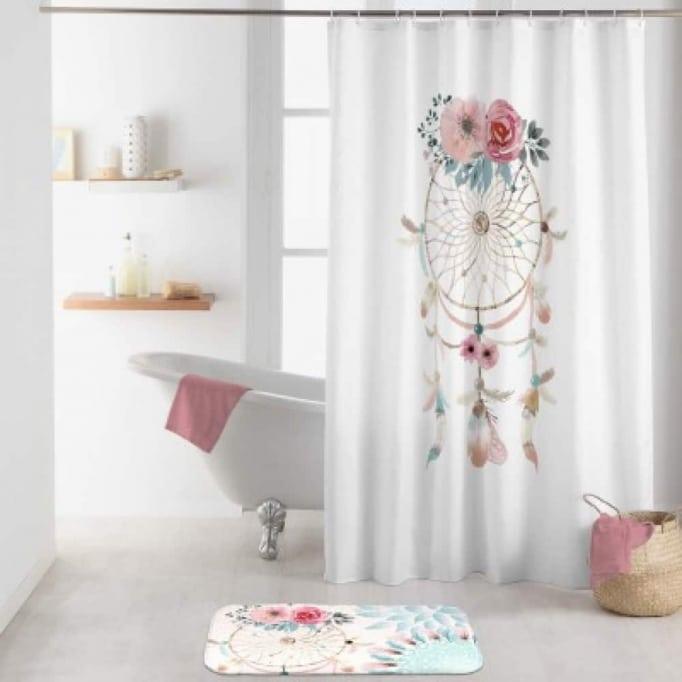 """Κουρτίνα μπάνιου """"Ονειροπαγίδα"""" 180X200εκ"""