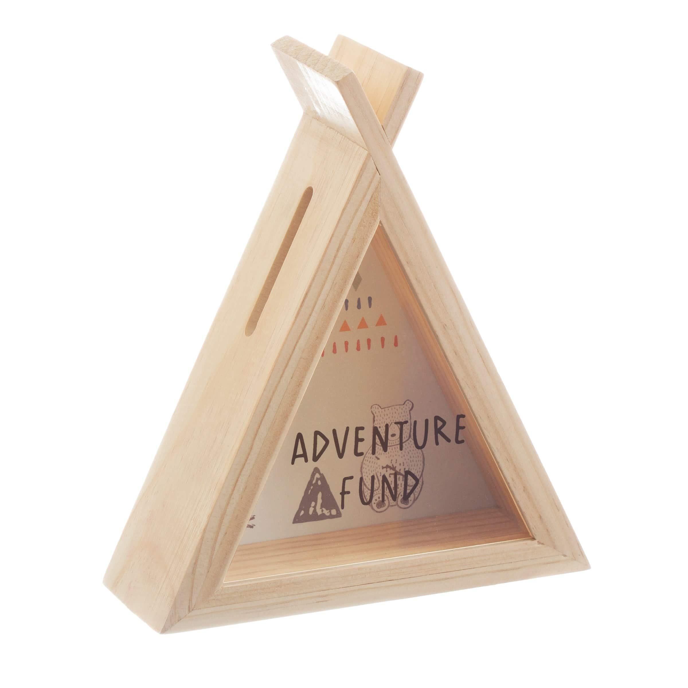 Κουμπαράς ξύλινος Bear camp